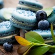 Blueberry macaroons — Stock Photo #34353529