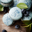 Blueberry macaroons — Stock Photo #34353933