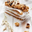 Homemade granola bars — Stock Photo #44125115