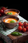 Tomato soup — Stock Photo