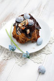 Easter bundt cake — Stock Photo