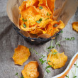 Sweet potato chips — Stock Photo #48115009