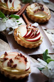 Apple tartlets — Stock Photo