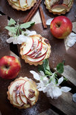 Apple tartlets — Stock Photo