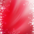 Red Christmas background — Stock Photo #6285890