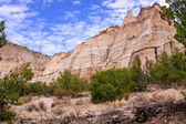 Amazing colors at Tent Rocks National Monument — Stock Photo