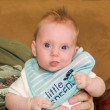 Cute almost four month old baby girl — Stock Photo #46023653