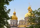 ウスペン スキー大聖堂キエフ ・ ペチェールシク大修道院のフラグメント. — ストック写真