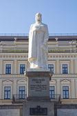 著名的公爵夫人的纪念碑在基辅,乌克兰的奥尔加 — 图库照片