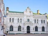 Oude witte klooster huis in kiev pechersk lavra — Stockfoto