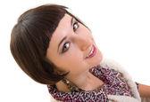 Close up portrait of Pretty woman — Stockfoto