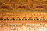 Decke Dekoration im Palast — Stockfoto