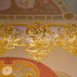 Ceiling Decoration in palace — Stock Photo