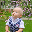 Little boy in park — Stock Photo #19244547