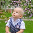 Little boy in the park — Stock Photo #19244547
