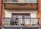 Abandoned balcony — Stock Photo