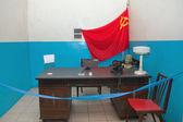Military soviet bunker — Stock Photo