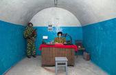 военные советского бункера — Стоковое фото