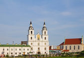 Katedrála svatého ducha v minsku, bělorusko — Stock fotografie