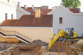 Renovation Work in Old Yard. Minsk, Belarus — Stock fotografie