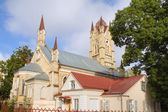 Abandoned Lutheran church in Grodno, Belarus — Stock Photo