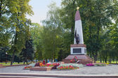 Soviet Memorial at Grodno, Belarus — Stock Photo