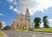 Grodno Church of the Finding of the Holy Cross formerly Bernard — Foto Stock