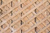 Cerca de madeira velha — Foto Stock