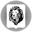 Lions Head — Stock Vector