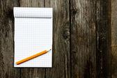 Notepad — Стоковое фото