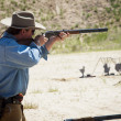 Stock Photo: Target Shooting