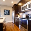 Custom Kitchen — Stock Photo