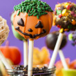 Halloween Snack — Stock Photo