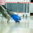 Airport rush — Stock Photo