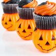 Halloween Cupcakes - Stock Photo