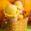 Pumpkin Gelato — Stock Photo #13298444