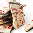 Peppermint Bark — Stock Photo