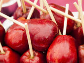 Manzanas acarameladas — Foto de Stock