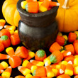 Halloween Candies — Stock Photo