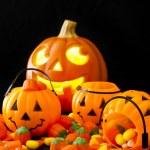 Halloween Candies — Stock Photo