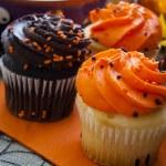 Halloween Cupcakes — Stock Photo #13715116