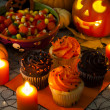 Halloween Cupcakes — Stock Photo #13715162