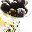 Champagne truffles — Stock Photo