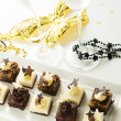 Assorted petite party pastries — Stock Photo #15078895