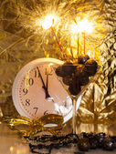 Champagne truffles — Stock Photo