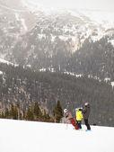 Esqui — Foto Stock