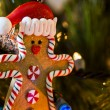 Stock Photo: gingerbread man&quot