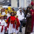 SantLuciChildren's Procession — Stock Photo #16846999