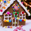 Gingerbread house — Stock Photo #17121811