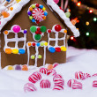 Gingerbread house — Stock Photo #17121817
